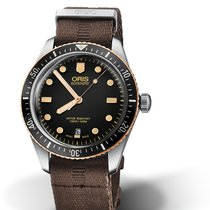 Oris Divers Sixty Five Steel 40mm Black No numerals