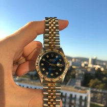 Rolex Datejust Perpetual Pyramid Bezel Diamond