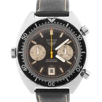 Heuer Steel 42mm Automatic 1163 pre-owned United States of America, New York, Massapequa Park