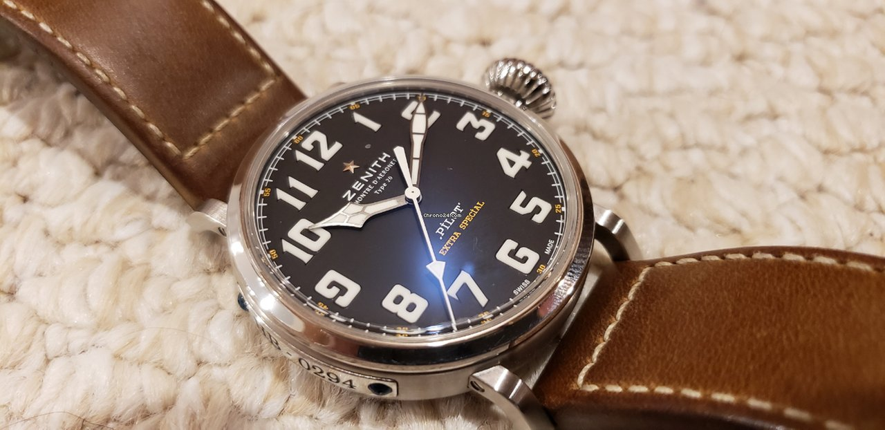 Použité hodinky Zenith Pilot Type 20 Extra Special  761dfa08f0c