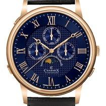 Charmex Stahl 42mm Quarz Charmex Wildenstein 3087 Qz mens watch neu