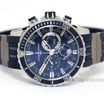 Ulysse Nardin Diver Chronograph Steel 44mm Blue No numerals United States of America, Florida, Aventura