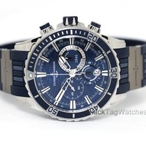 Ulysse Nardin Diver Chronograph Steel 44mm Blue No numerals
