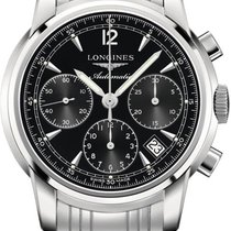 Longines Saint-Imier Steel 41mm Black United States of America, California, Moorpark