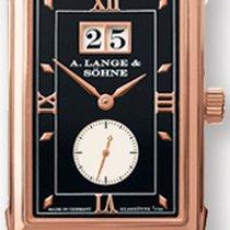 A. Lange & Söhne Cabaret Rose gold 36.3mm Black