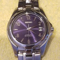 Seiko Kinetic Steel 38.00mm United States of America, New York, STATEN ISLAND