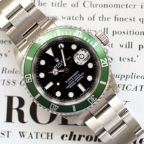 Rolex Submariner Date Steel 40mm Green No numerals United States of America, Virginia, Sterling