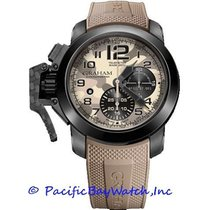 Graham Chronofighter Oversize 2CCAU.E03A.K93B new