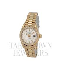 Rolex Lady-Datejust Oro amarillo 26mm Plata