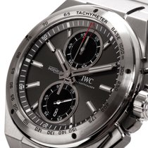IWC Ingenieur Chronograph Racer Steel 45mm Grey No numerals United States of America, New York, Greenvale