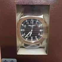 百達翡麗 Aquanaut 玫瑰金 40mm 黑色 阿拉伯數字 香港