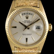 Rolex Day-Date 36 Yellow gold 36mm Silver United Kingdom, London