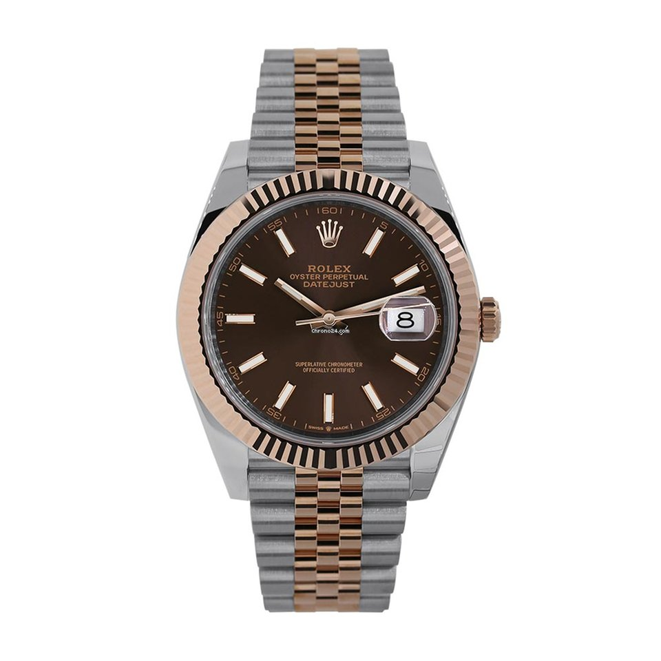 Rolex Datejust 41mm Steel \u0026 Rose Gold Chocolate Dial 126331