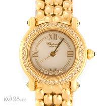 Chopard Happy Sport Diamonds Gold Diamonds 28,5 mm Quartz