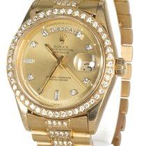 Rolex Oyster Perpetual Day-Date Diamonds Custom