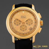 Zenith El Primero  Chronomaster  Chronograph 18K Gold Box &...
