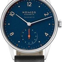 NOMOS Minimatik Steel 35.5mm Blue United States of America, New York, Airmont