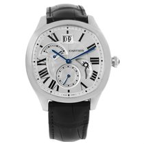 Cartier Drive Stainless Steel Chronograph Mens Watch Wsnm0005