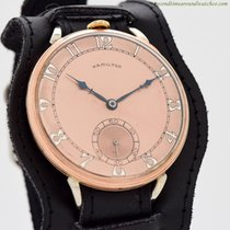 Hamilton Montre de poche occasion 43mm Or rose 1941