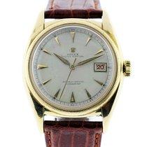 Rolex 6075 Bubble Back 18k  Gold  Watch