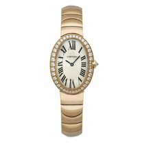 Cartier Baignoire new 31.6mm Rose gold