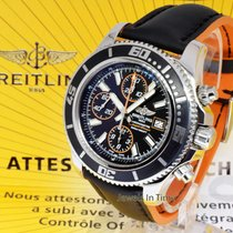Breitling Superocean Aeromarine Chronograph Watch Box/Papers...