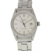 Rolex Oyster Perpetual Date 1501 Engine Turned Bezel