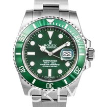 勞力士 Submariner Green/Steel Ø40mm - 116610 LV