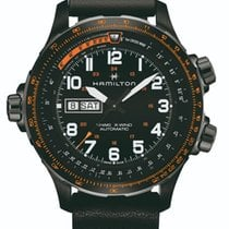 Hamilton Khaki X-Wind Steel 45mm Black United Kingdom, Chester