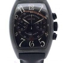 Franck Muller Steel Automatic Black Arabic numerals pre-owned Casablanca