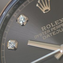 Rolex Datejust Gold/Steel 41mm Brown No numerals
