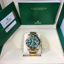 Rolex 116718 LN Yellow gold GMT-Master II 40mm