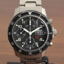 Sinn 103 Titanium 41mm Black Arabic numerals