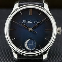 H.Moser & Cie. 40.8mm Manual winding pre-owned Endeavour Blue