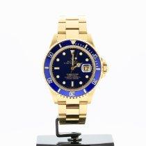 Rolex 16808 Gelbgold 1979 Submariner Date 40mm gebraucht