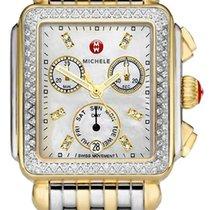Michele Oro amarillo 33mm Cuarzo MWW06P000108 nuevo
