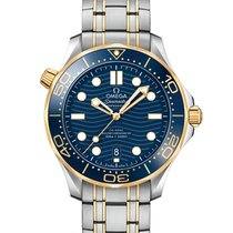 Omega 210.20.42.20.03.001 Gold/Steel 2019 Seamaster Diver 300 M 42mm new United States of America, New York, New York