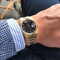Rolex Day-Date Oysterquartz Or jaune 36mm Sans chiffres France, Paris