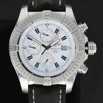 Breitling Super Avenger Steel 48mm White Arabic numerals United States of America, California, Los Angeles