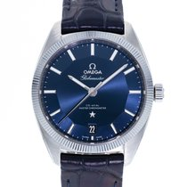 Omega Globemaster Steel 39mm Blue United States of America, Georgia, Atlanta