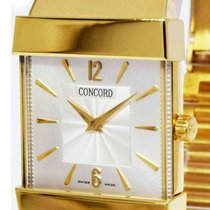 Concord Yellow gold Quartz Silver 26.5mm pre-owned C1