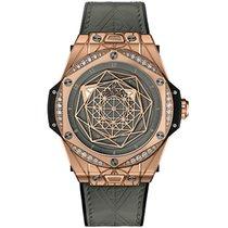 Hublot Big Bang Sang Bleu Rose gold 39mm Transparent No numerals