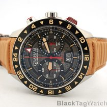 Graham Silverstone RS Acero 46mm Negro Árabes