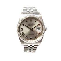 勞力士 (Rolex) Datejust 16620 Jubileeband Edelstahl silber römsich
