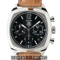 TAG Heuer Monza Chronograph Caliber 17 Stainless Steel 38mm...