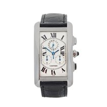 Cartier Tank Americaine 18K White Gold Gents W2603356 - W3342