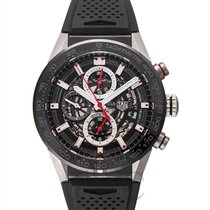 태그호이어 (TAG Heuer) Calibre HEUER 01 Automatic Chronograph Black...