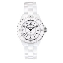 Chanel J12 Ceramic 33mm White Arabic numerals United States of America, Iowa
