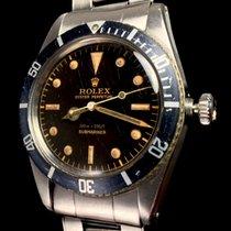 Rolex Submariner 6536/1 Tropical Brown Spider Full Set Box &...