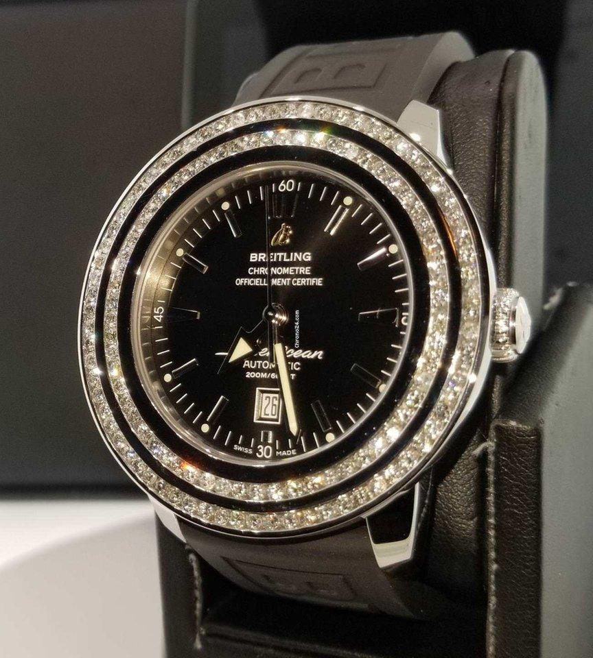 853026c7e3b Breitling Superocean Héritage 46 - Todos os preços de relógios Breitling  Superocean Héritage 46 na Chrono24